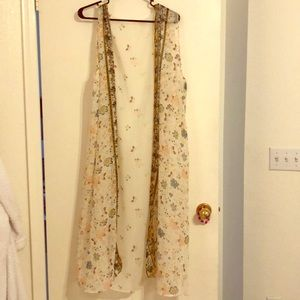Long kimono (sheer duster)